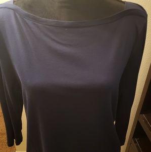 Talbots navy blue 3/4 sleeve size XL petite